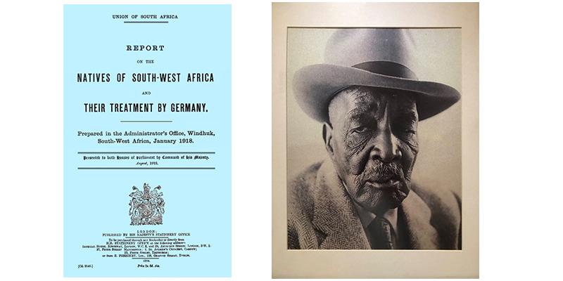 The Blue Book and Chief Hosea Kutako