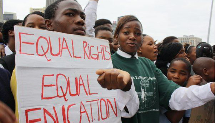 Equal Rights Equal Education march