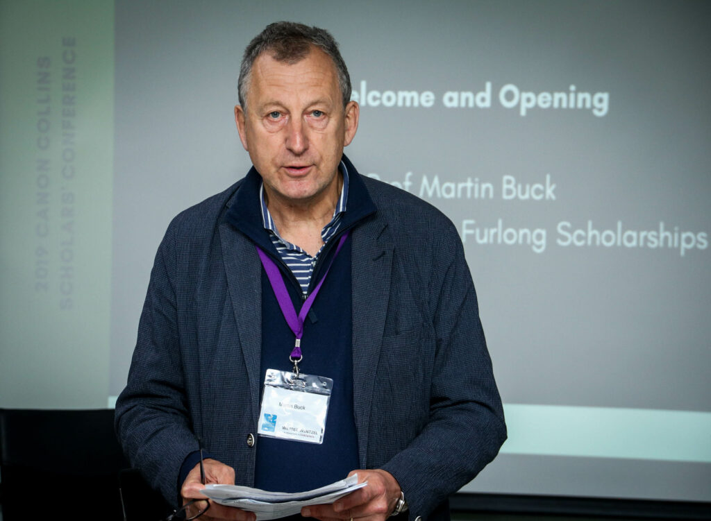 Martin Buck of RMTF Scholarships